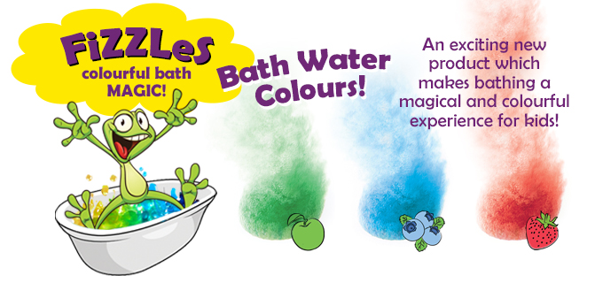 Bath water colours for kids