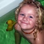 Bath Water Colours making bath time fun for kids