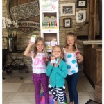 excited kids with their free FiZZLeS samples