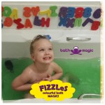Fun and exciting bath time for kids