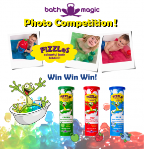 Colourful Bath Water Photo Competition