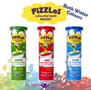 fizzles bath colours